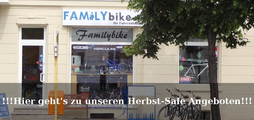 Familybike, Ihr Fahrradladen in Berlin Pankow